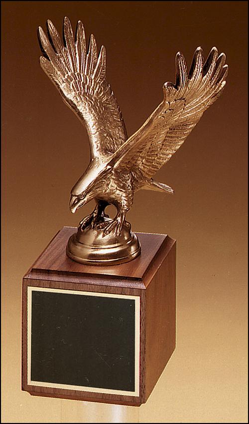 Eagle Trophy on Square Base
