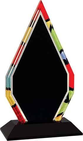 Diamond Stained Glass Acrylic
