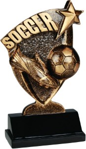 "6"" Soccer Broadcast Resin"