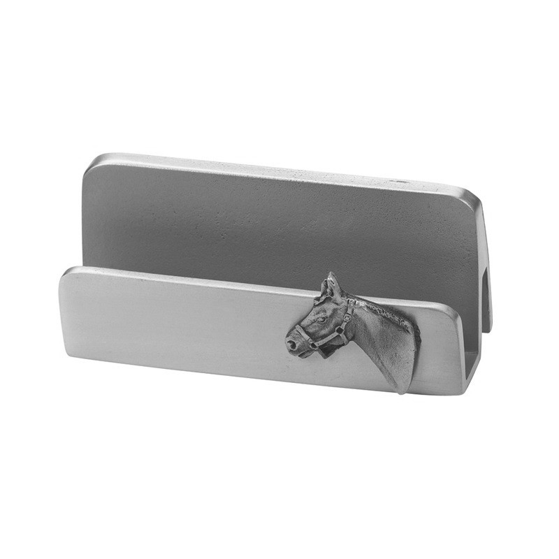 Horse Head Business Card Holder