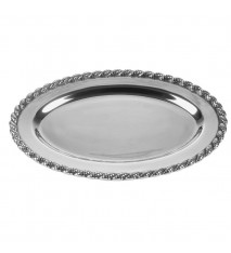 "Masthead Medium Oval Tray, 14 ½"" x 10"""