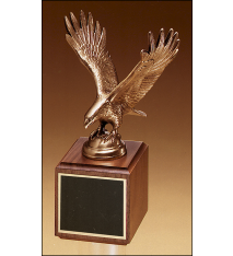 Eagle Trophy on Square Base