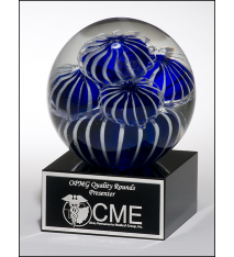 Sea Anemone Art Glass Award
