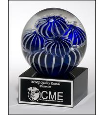 Sea Anemone Art Glass Award
