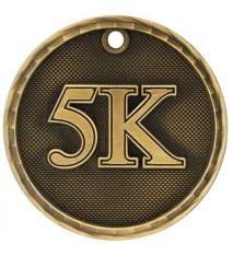 """2"""" 3D 5K Medal"""