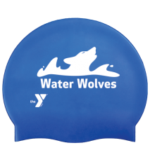YMCA WATER WOLVES SILICONE CAP