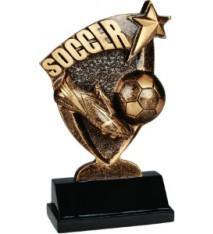 """6"""" Soccer Broadcast Resin"""