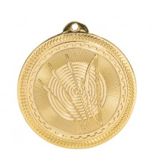 "2"" Archery Laserable BriteLazer Medal"