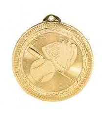 """2"""" Baseball Laserable BriteLazer Medal"""