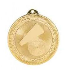 "2"" Cheer Laserable BriteLazer Medal"