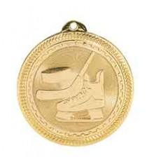 """2"""" Hockey Laserable BriteLazer Medal"""