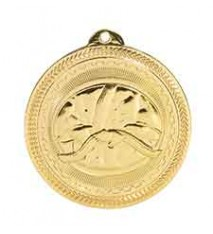 "2"" Martial Arts Laserable BriteLazer Medal"