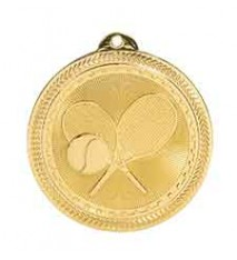 "2"" Tennis Laserable BriteLazer Medal"