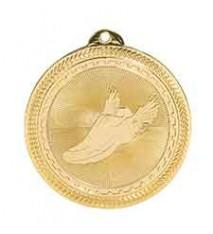 "2"" Track Laserable BriteLazer Medal"