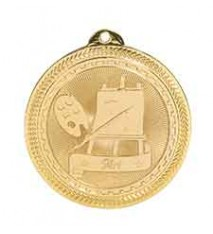 "2"" Art Laserable BriteLazer Medal"