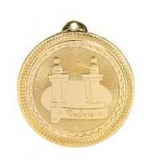 """2"""" Debate Laserable BriteLazer Medal"""