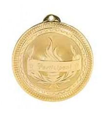"""2"""" Participant Laserable BriteLazer Medal"""