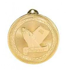 "2"" Religious Laserable BriteLazer Medal"