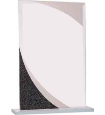 Rectangle Designer Glass Award