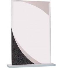 Rectangle Designer Glass Award