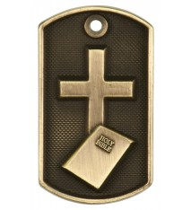 "2"" 3D Religion Dog Tag"