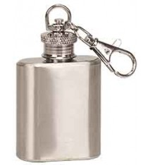 1 OZ S.S. FLASK KEY CHAIN