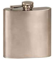 6 OZ STAINLSS STEEL FLASK