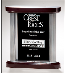 Premium Series Black Glass Award
