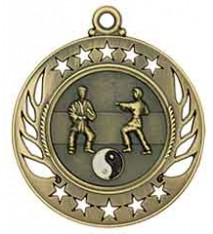 "2 1/4"" Martial Arts Galaxy Medal"