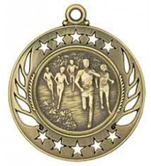 "2 1/4"" Cross Country Galaxy Medal"
