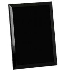 Black Mirror Glass Plaque