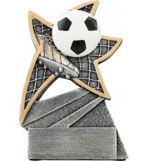 "5 1/2"" Soccer Jazz Star Resin"