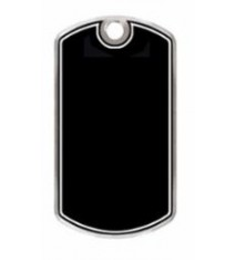 BLACK BEAUTY DOG TAG BLANK