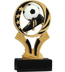 "6"" Soccer MidNite Star Resin"