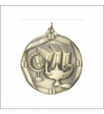 LAMP OF KNOWLEDGE MEDAL 2 1/4""