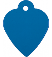 "1 3/8"" X 1 1/8"" Heart Pet Tag"