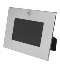 "Horizontal Wide Border Frame w/Cross 4"" x 6"""