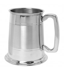 Double Line Tankard - Part Satin