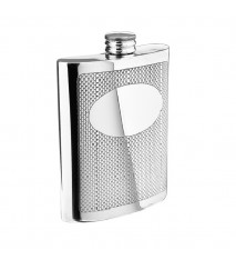 Embossed Flask, 6 oz.