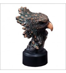"""EAGLE BUST SMALL 5-1/2"""""""