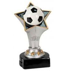 """5 3/4"""" Soccer Rising Star Resin"""