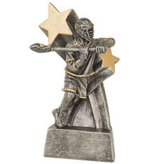 "6"" Male Lacrosse Super Star Resin"