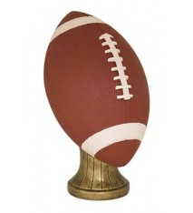 "11"" Color Football Resin"