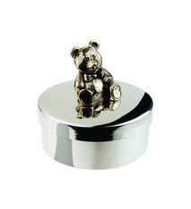 "Keepsake Box - Teddy Bear 1 7/8"" diameter"