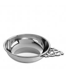 Traditional Handle Baby Porringer, 4""