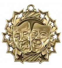 "2 1/4"" Drama Ten Star Medal"
