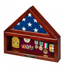 Combination Flag Case/Shadow Box without Base