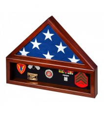 Large Combination Flag Case/Shadow Box without Base