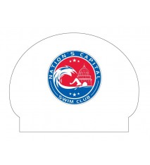 NATION'S CAPITAL SWIM CLUB SILICONE CAP