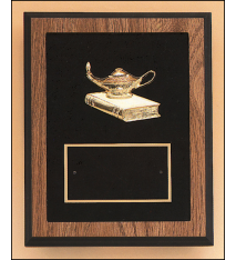 Plaques with Metal Accessories